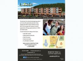 Academy Hill Ad