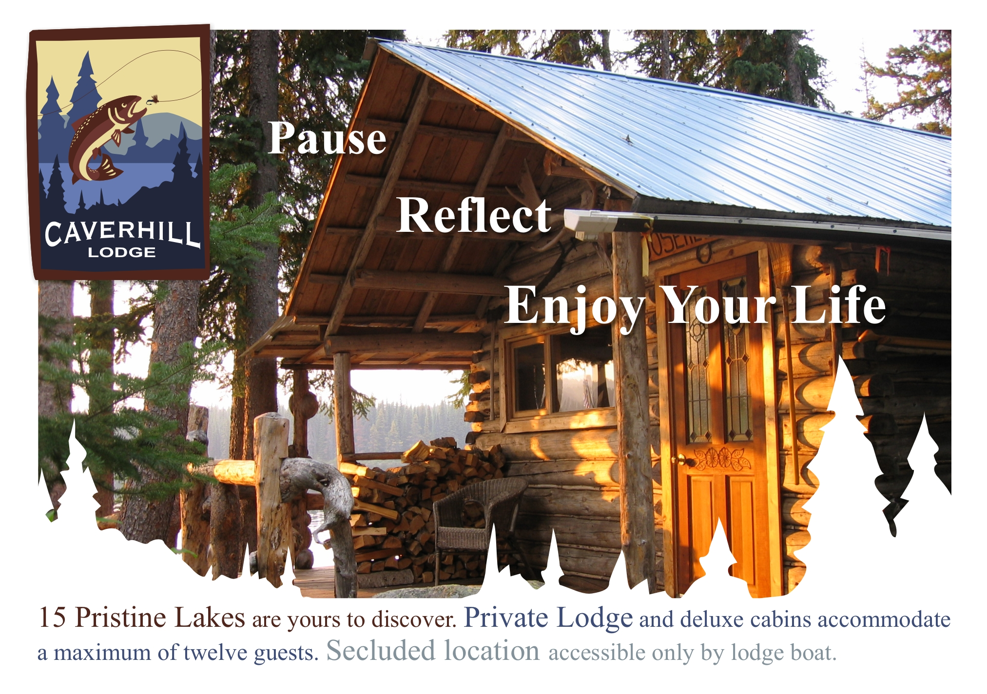 Caverhill Lodge Postcard